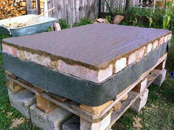 course anleitung zum selber bauen eines einfachen lehmofen. Black Bedroom Furniture Sets. Home Design Ideas